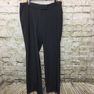 Calvin Klein Gray Trouser Dress Pants L16
